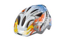 Casque Cratoni Rapper Eagle white-silver-blue glossy